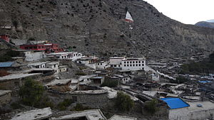Marpha - The village of Marpha in Nepal