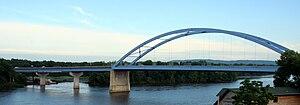 U.S. Route 18 in Iowa - US 18 crosses into Wisconsin via the Marquette–Joliet Bridge