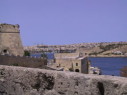 Marsamxett Harbour as seen from Manoel Island
