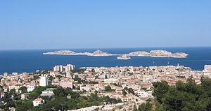 Frioul archipelago - The Frioul archipelago, off Marseille.