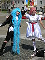 Maru & Moro cosplayers at 2010 NCCB 2010-04-18 1.JPG