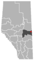 Marwayne, Alberta Location.png
