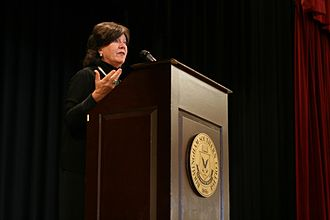 Mary Badham - Mary Badham speaking at Birmingham-Southern College in 2012