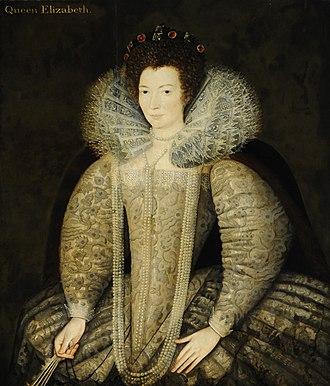 Mary Talbot, Countess of Shrewsbury - Mary Cavendish (1555-1632), Countess of Shrewsbury, British (English) School, National Trust, Hardwick Hall