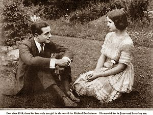 Mary Hay (actress) - Photograph of Richard Barthelmess and Mary Hay published in Photoplay, 1920