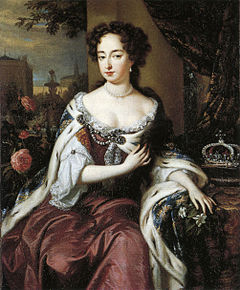 Mary II after William Wissing