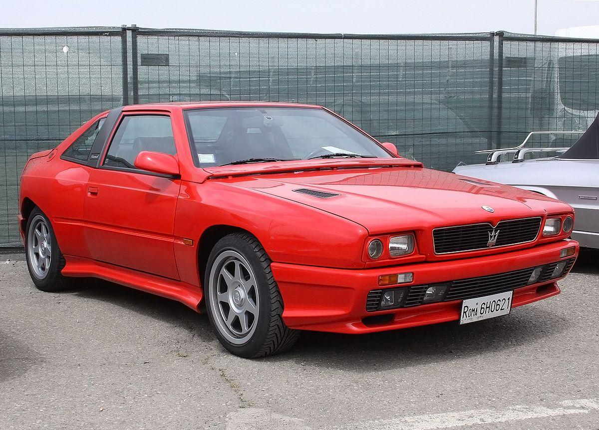 Maserati Shamal - Wikipedia