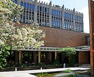 Massey College, Toronto - View from the college's quadrangle