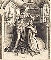 Master MZ, Solomon Worshipping False Gods, 1501, NGA 36441.jpg