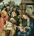 Detail from Adoration of the Magi by the Master