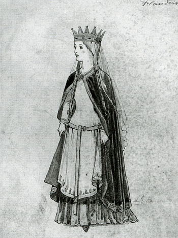 Matilda of Flanders, Queen of England and Duchess of Normandy 350px-Matilda_of_Flanders