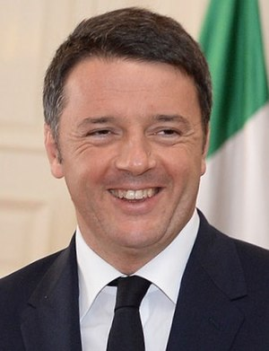 Centre-left in Italy - Matteo Renzi in 2015.