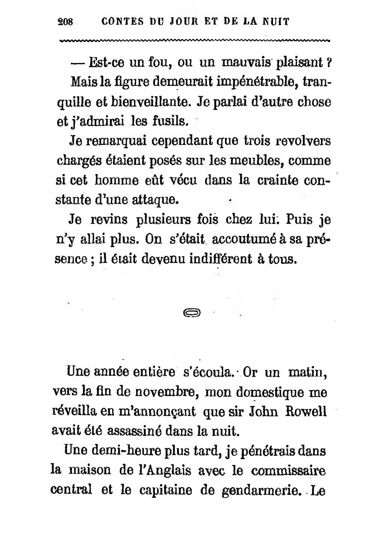 Page Maupassant Contes Du Jour Et De La Nuit 1885 Djvu 210