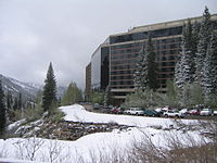 Snowbird ski resort, one of the snowiest places in the U.S.