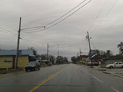 U.S. Route 17 in Maysville, March 2015