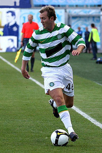 Aiden McGeady - Aiden McGeady playing for Celtic against Dynamo Moscow