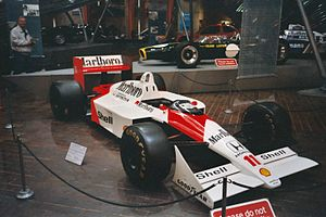 Brabham BT55 - The BT55's concept was eventually successful in the McLaren MP4/4