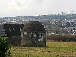 Medieval dovecote at Castell y Van - geograph.org.uk - 1729079.jpg