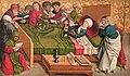 Meister von Großgmain - Marientod, Mitteltafel des sog. Pretschlaipfer-Triptychons - 4857 - Kunsthistorisches Museum.jpg