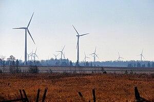 Melancthon, Ontario - Wind farm in Melancthon