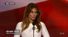 চিত্র:Melania Trump's plagiarised speech compared with Michelle Obama's.webm