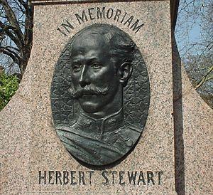 Herbert Stewart - Medallion From The Memorial To Sir Herbert Stewart at Hans Place, London