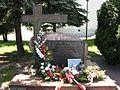 Memorial to Katyn victims in Piotrków Trybunalski.jpg