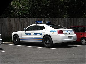 Memphis Police Department - 2007 Memphis Dodge Charger