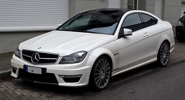 File Mercedes Benz C 63 Amg Coup 233 C 204 Frontansicht