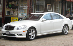 2007–2009 Mercedes-Benz S 550 (US)