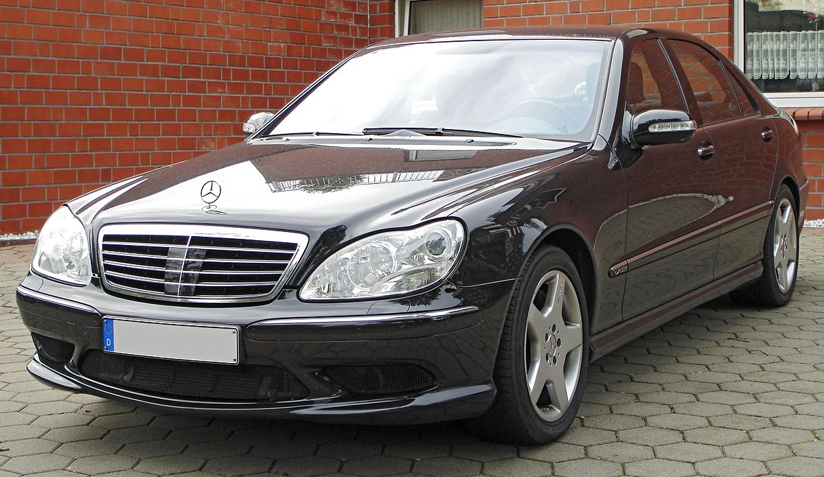 Mercedes Benz W220 Wikipedia