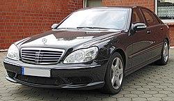 Mercedes benz w220 wikipedia for Bj custom designs