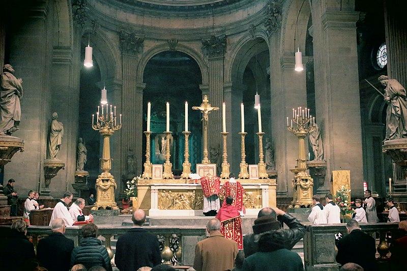 File:Messe solennelle d'action de grâce pour les 25 ans de la FSSP (10892923415).jpg