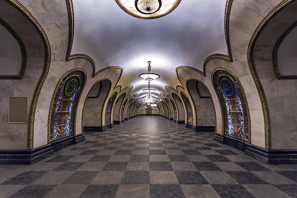 Metro MSK Line5 Novoslobodskaya