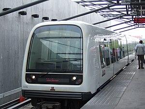 Vanløse Station - Metro train at Vanløse station