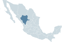 Mexico map, MX-DUR.svg