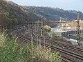 Mezichuchelská a železniční trať, z ulice Nad drahou.jpg
