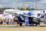 MiG-29 on display at Ryazan Dubrovichi.jpg