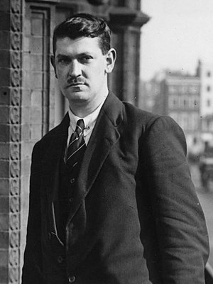 Chairman of the Provisional Government of the Irish Free State - Image: Michael Collins 1921