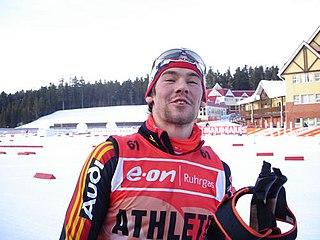 Michael Rösch German biathlete