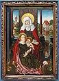 Michael wolgemut, madonna col bambino e sant'anna in memoria di anna gross, 1510 ca.JPG