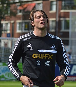 Michu - Michu training with Swansea City in 2013