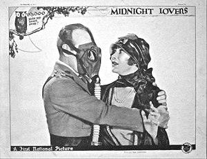 Midnight Lovers (1926 film) - Lobby card