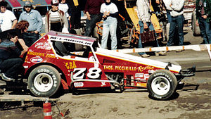 Mike McLaughlin - Dirt Modified in 1979 or 1980