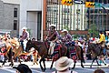 Mike Smith and Johnny Gaudreau in Calgary Stampede Parade (43226870552).jpg