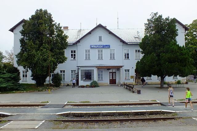 Mikulov na Moravě,železniční stanice.JPG