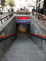 Milano piazza Lima accesso metropolitana.JPG