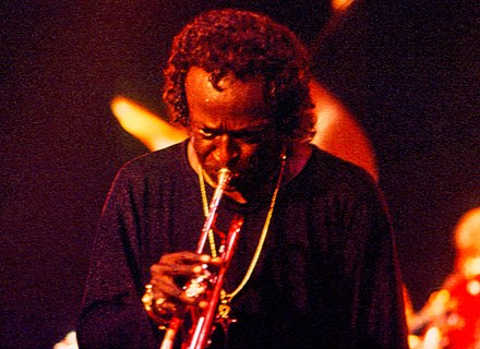 Davis at the North Sea Jazz Festival, 1991 Miles Davis 22.jpg