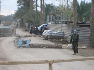 Operation Murfreesboro - Iraqi militia checkpoint in Sofia
