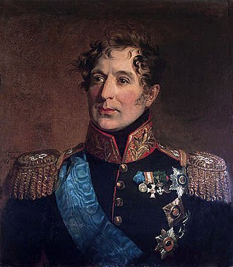 Battle of Krasnoi - Count Miloradovich